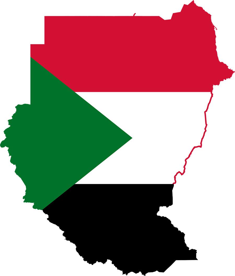 خريطة السودان القديم قبل الإنفصال Mag-316-132